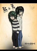 K and L - fullbody by HwayoungMarshmallow