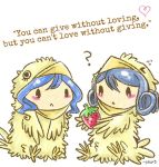 Juvia and Levy Chicks Quotes - Giving by Kasugaxxx
