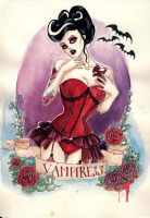 Vampiress by koffinkandy
