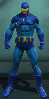 Blue Beetle Ted Kord (DC Universe Online) by Macgyver75