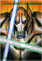 Topps Clone Wars ARC Grievous by grantgoboom