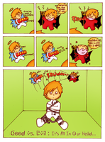 Good Vs Evil - Issue no. 4786 by bLuHdy-HeLL