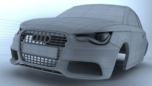 Audi A1 by Tom-3D