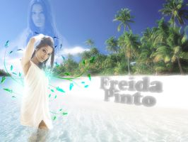 freida pinto by Baby-Krrish