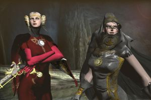Fearless sisters by missGangrel