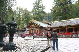 The Courtyard at Nikko Toshogu Shrine by s-girl