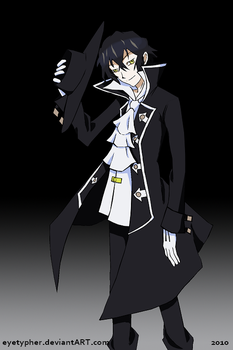 PandoraHearts_Gilbert Nightray by eyetypher