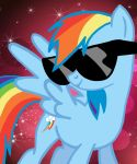 Rainbow Dash: 20 Percent Cooler! by MissFluttershyShy