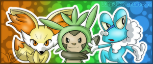 X Y starters by Luifex