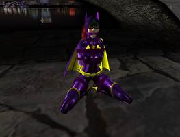 Bat Girl 4 - Frog Tied Bat by TheSuperSnapper