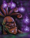 Vulpix Used Will-O-Wisp by Puppy-Chow
