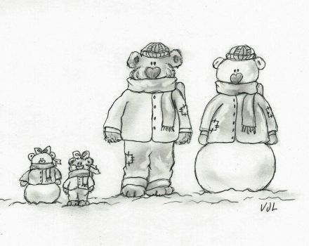 Which Are The Bears, and Which Are The Snowmen? by ValerieJoyLauria