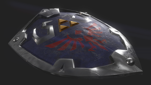 Legend of Zelda Hylian shield by ostidetbk