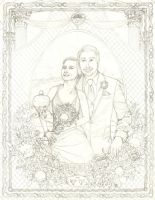 Nate and Vicki (WIP) by Alsdale