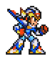 Falcon Armor in 16 bit by DanmanX5792
