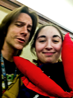 BOOYA I GOT A PIC WITH MATTHEW MERCER by Clonesaiga