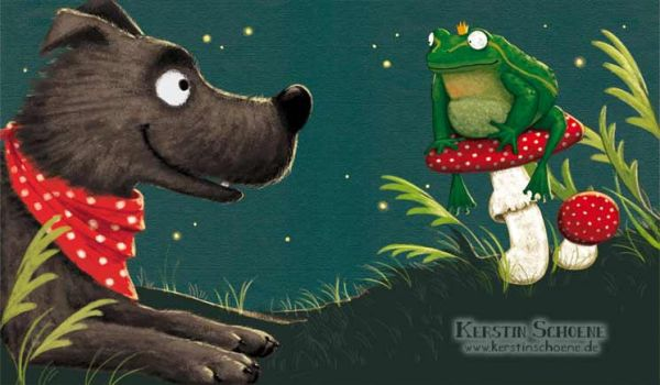 Lullemu and the frog by KerstinS