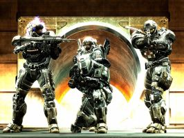 Halo Reach: four sins by purpledragon104
