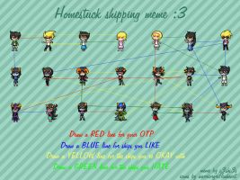 HomeStuck Shipping Meme! by PuzzleLeafs