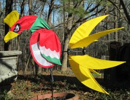 Ho-oh wind spinner by Neon-Juma