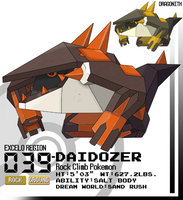039-Daidozer by Dragonith