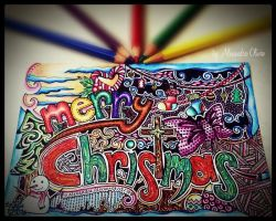 Merry Christmas-Abstract Design by MilkySweets