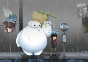 My Neighbor Baymax by MeoMoc
