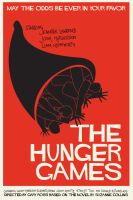 Saul Bass inspired Hunger Games Poster by DeathlyTriforce