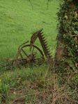 Old plough by HermitCrabStock
