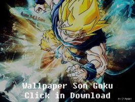 Son Goku Wallpaper by stand87