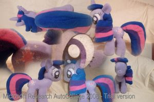 Twilight Sparkle plush by Fluttershy103