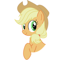 Applejack vector by LMAOPony
