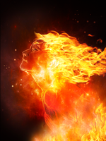 Fire Sprite by Tiger-tyger