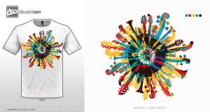 t-shirt.design.LP.white by mustafahaydar