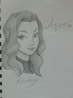 Asami Sketch by Exunary