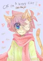 Cry is a kitty cat! by Nadi-Chan