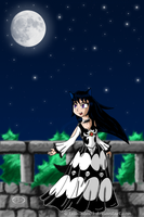 Twili's Halloween Moonlight Dance by EvilVixen05
