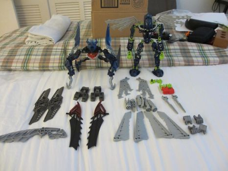 New Sets and Parts by Blitzwing360