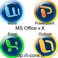 MS Office X Plastic Circles by mmr85