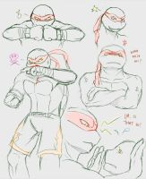 Raph Sketches by klankey