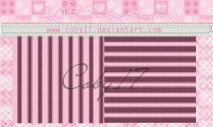 Stripes Brushes for Paint Tool SAI by Coby17
