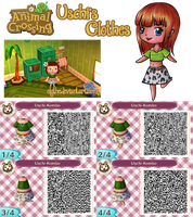 Animal Crossing: New Leaf ''Uschi's Clothes'' by Elythe