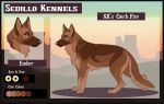 SK's Catch Fire: Ember by Sedillo-Kennels