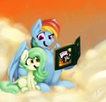 Request: Storytime with Rainbow Dash by Balderdash999