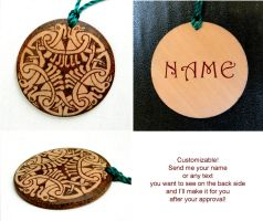 CELTIC BIRDS pyrography beautiful wooden keychain by YANKA-arts-n-crafts
