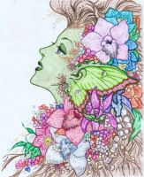 The Green Faery by xxLDxx
