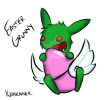 Easter Grunny by kidbrainer
