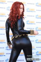 Black Widow Cosplay (Comic Version) by DolliciousArt