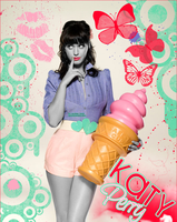 Katy Perry Colorization by laynaxKiSSEd