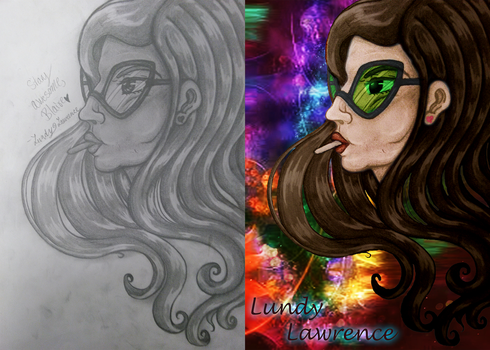 Before and After: Blaire White by cosmo090909